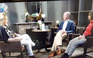 Liesbeth en Michel op TV-Apeldoorn