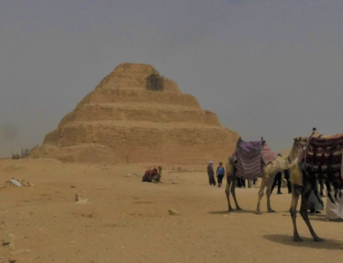 Lezing over de piramide van Sakkara door Willem Witteveen